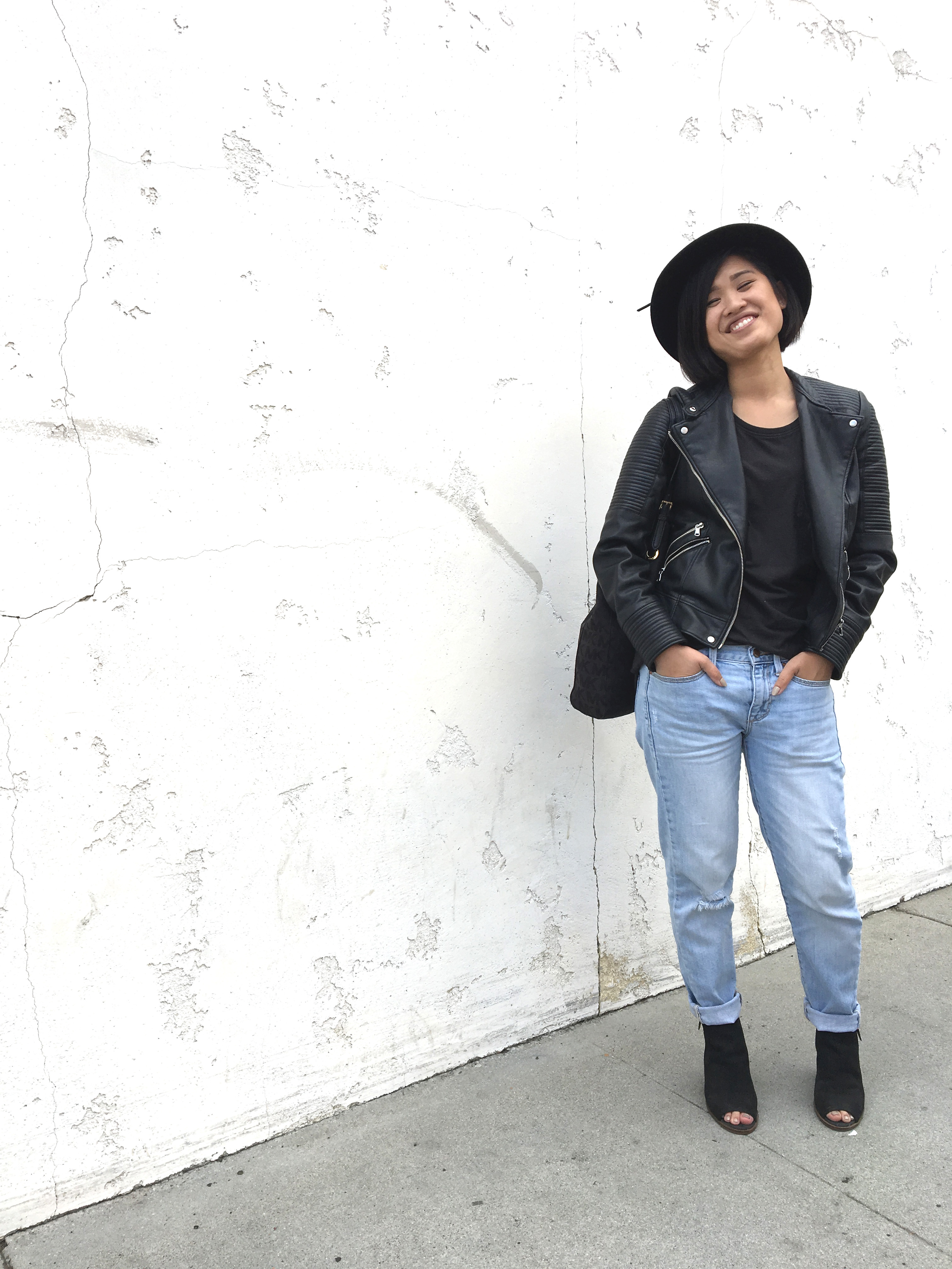 #WardrobeWednesday : Leather Weather